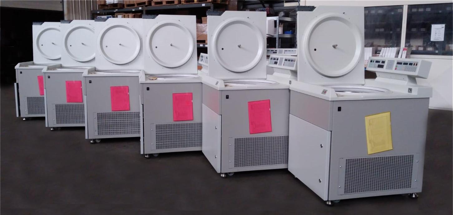 MSE Centrifuges Production Line
